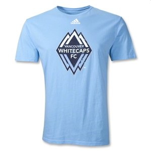 adidas Vancouver Whitecaps FC MLS 2011 Crackled Logo T-Shirt