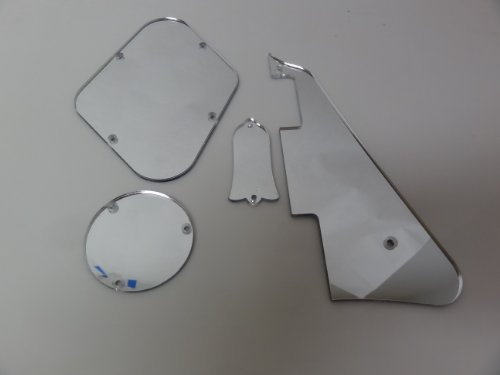 Mirror Pickguard, Cavity Covers, And Truss Rod Cover Set Fits Gibson Les Paul