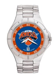 New York Knicks NBA PRO II Metal Sports Watch by Logo Art
