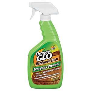 "Church & Dwight 11501 ""Orange Glo"" Hardwood Floor Everyday Cleaner 22 Oz, Fresh Orange Scent"