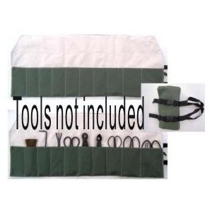 Stanwood Bonsai Tool 10-Pocket Case Heavy Duty Tool Roll (Bonsai Tool Bag compare prices)