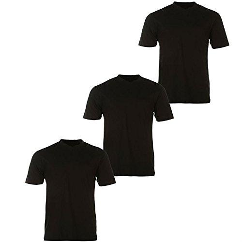 donnay-camiseta-manga-corta-para-hombre-negro-medium