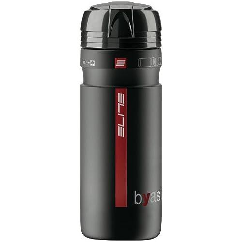 ELITE(엘리트) BYASI Glossy BLK ・지름:74mm ・용량:약750cm3 사이클링 보틀-0111804