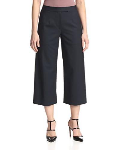 Monique Lhuillier Women's Wool Gaucho Pants