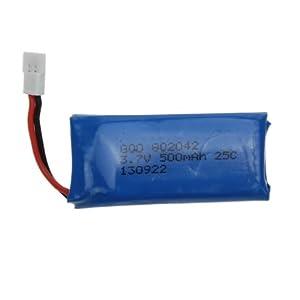 3.7V 500mAh Batterie fuer UDI U816 Hubsan X4 H107 H107L H107C H107D V252 JXD385