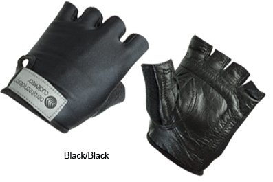 Children's Leather Cycling Gloves are Padded.