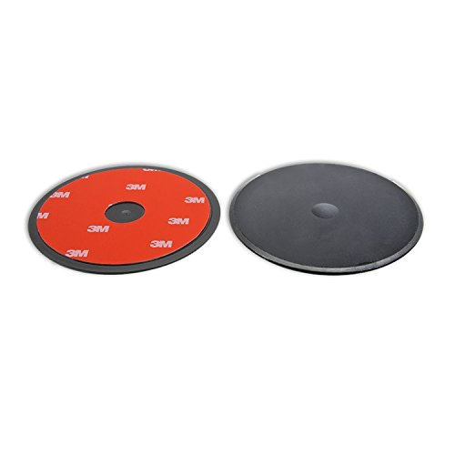Navitech 80mm Circular Adhesive Universal Dash Disc For Use With Windscreen Suction Cups For the TomTom ONE 30 Series