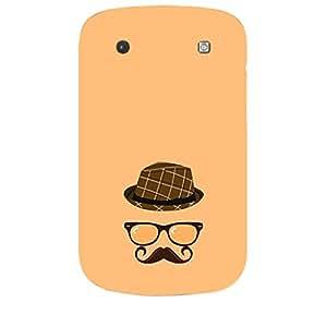 Skin4gadgets Hipster Pattern- Hat, Glasses, Mustache, Color - Light Salmon Phone Skin for Bolt 9900