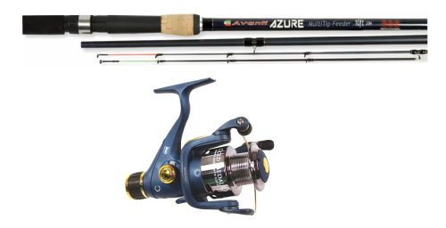 Fishsense Quiver/Feeder 10ft Twin Tip Rod and Reel Combo