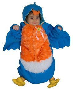 Baby Bluebird Bunting Infant Halloween Costume Size 0-12m