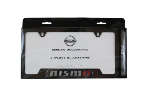 Genuine Nissan Accessories 999MB-AV000BK Black License Plate Frame (Black Trd License Plate Frame compare prices)