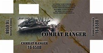 """Ranger Combat Black 5"""" Folding Knife"""