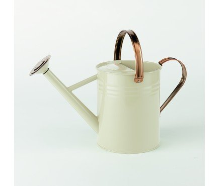 Metal Watering Can - Heritage Cream