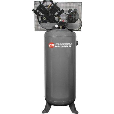 Campbell Hausfeld Electric Air Compressor - 5 Hp, 230 Volt, Single Phase, 60-Gallon, Model# Ce4101