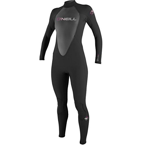O'Neill Wetsuits Womens 3/2 mm Reactor Full Suit, Black, 10 (Wet Suit For Women compare prices)