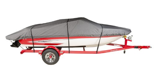 "New V-Hull Bowrider Storage Mooring Boat Cover fits 17/' 19.5/'L 100/""Width"