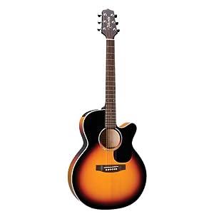 Takamine G Series EG450SMCSB NEX Acoustic Electric Guitar, Sunburst