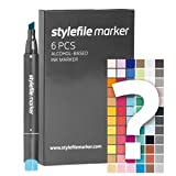 Stylefile Stifte/Marker Try Out Set 6er mehrfarbig (multicolor)