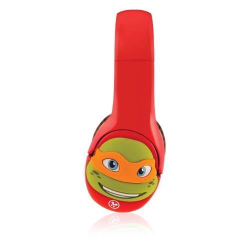 Fuhu Kinabi Headphone Personaliser Tmnt For Nabi 2 And Headphones, Michelangelo (Kn-Hp-Tmnt-Mke-01-Wi13)