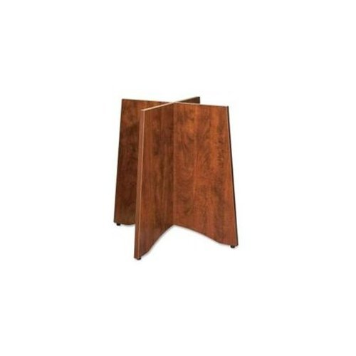 Lorell Wood Base for 42-Inch or 48-Inch Tabletops, 24 by 24-Inch by 29-Inch, Cherry