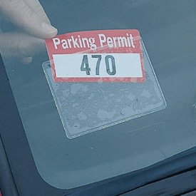 Parking Window Decals For Cars