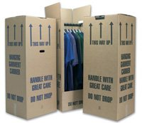 10 Tall Wardrobe Boxes Removal Garment Carriers 20 x 19 x 49