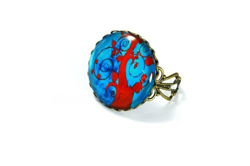 Ring XXL Vintage - Benediction tree [Jewelry]
