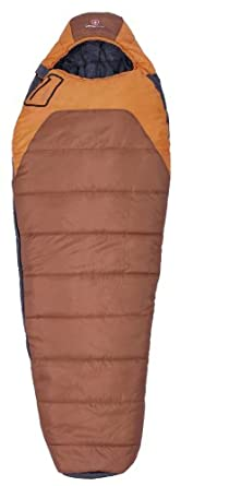 Swiss Gear Crevasse 0-Degree Mummy Sleeping Bag (Rust/Orange)