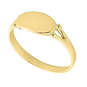s 14k yellow gold signet ring jewelry