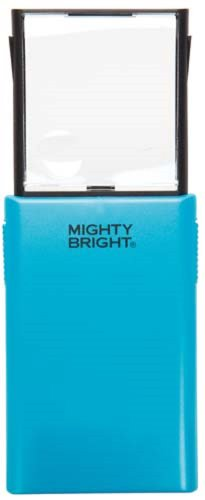 Mighty Bright 86011 Led Pop-Up Magnifier & Light, Blue