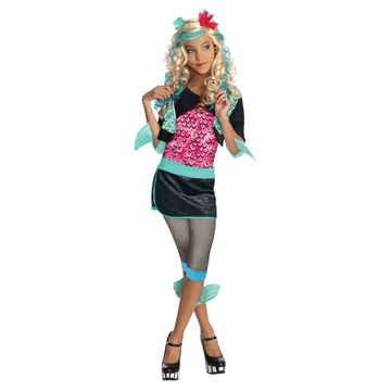 Monster High - Lagoona (Blue) Child Costume Size 12-14 Large