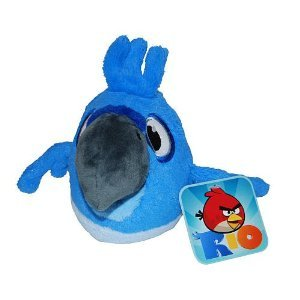 Angry Birds RIO 5-Inch Blue Bird with Sound (Color: Multi-colored)
