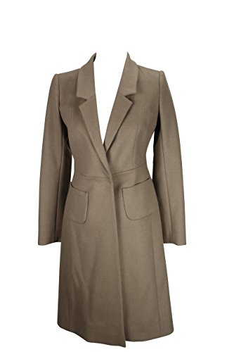 paule-ka-womens-coat-size-2-us-38-it-regular-brown-virgin-wool