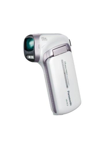 Panasonic デジタルムービーカメラ DC2 クールホワイト HX-DC2-W