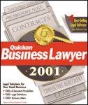Quicken Business Lawyer 2001 Deluxe