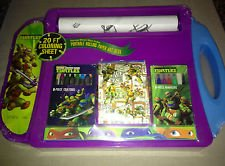 Nickelodeon Teenage Mutant Ninja Turtles Portable Rolling Art Desk - 1