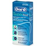 Oral-B Super Floss Dental Floss Strips 50-Count