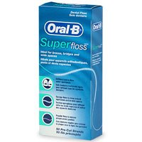Oral-B Super Floss, Dental Floss, Original (50-count)