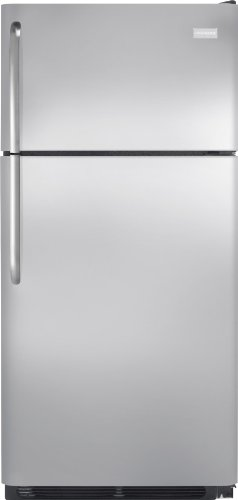Frigidaire FFHT1826LS 18.2 Cu. Ft. Top Freezer Refrigerator - Stainless Steel