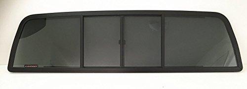 For Dodge Dakota Sliding Rear Window Glass 4 Panel Back Slider (Dodge Dakota Back compare prices)