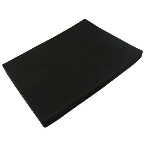 "Read About BLACK FUN FOAM 9"" X 12"" X 1/16"" THICK (12 PCS/PACK)"