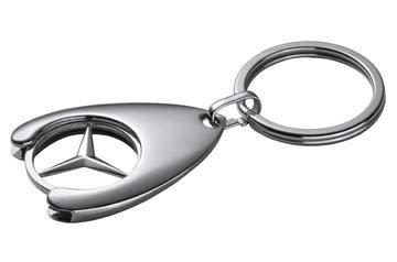 Mercedes-Benz portachiavi carrello euro sostituzione di chip
