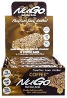 NuGo Nutrition NuGo To Go Coffee -- 15 Bars