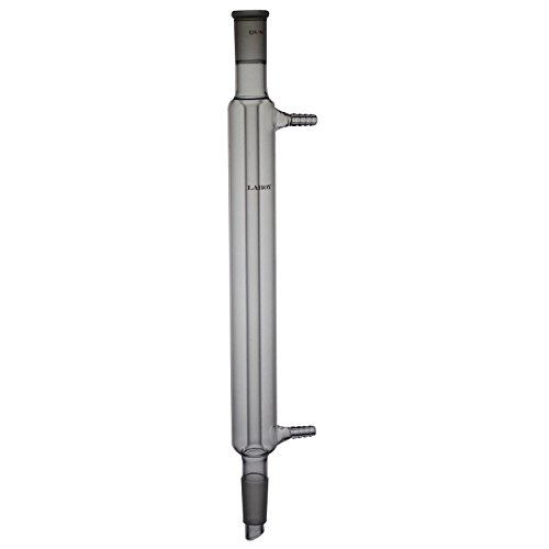 Laboy Glass Liebig Condenser With 24/40 Joint 300mm In Jacket Length Lab Glass (24 40 Condenser compare prices)