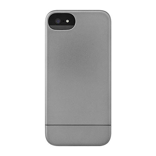 Incase CL69041 Metallic Slider Case for iPhone 5 - Retail Packaging - Steel [並行輸入品]