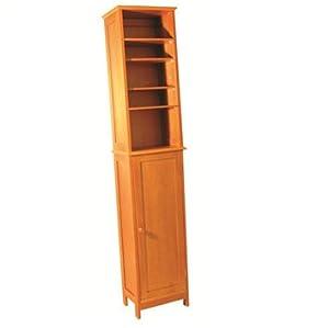 tall pine bathroom cabinet kitchen home