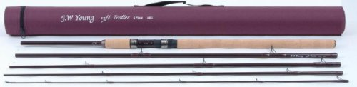 JW Young  &  Sons 13ft 5 Piece Trotter Travel Rod