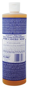 Dr. Bronner's Pure Castile Soap - Peppermint (16 oz.)