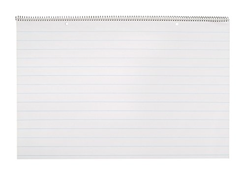 School Smart Lined Chart Tablet - 1 inch Rule - 24 x 16 inches - 25 sheet Pad (Classroom Chart Paper compare prices)