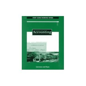 Essentials of Accounting:  Study Guide/Working Papers